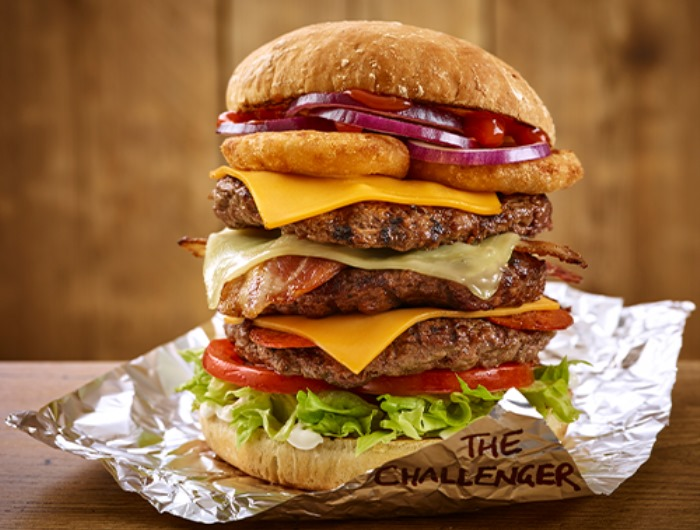 The Challenger Burger