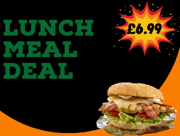 LUNCH MEAL DEAL £6.99